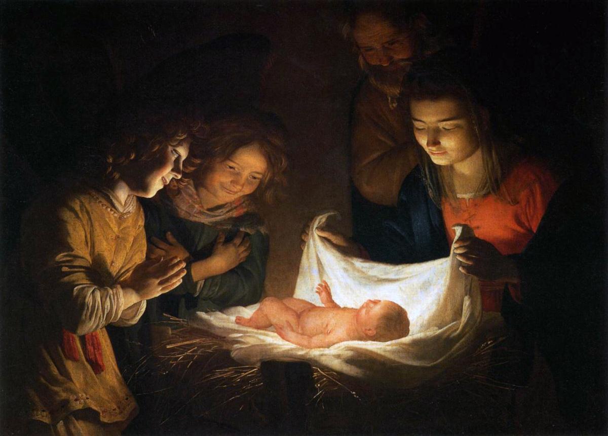 Gerard von Honthorst, Adoration of the Shepherds