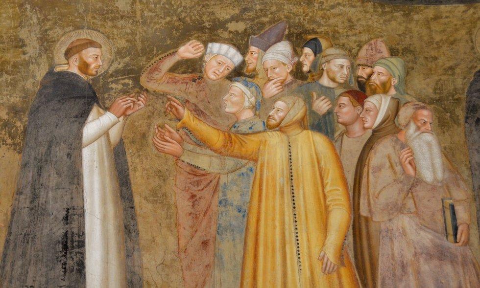 Andrea di Bonaiuto, Exaltación de la Orden Dominica