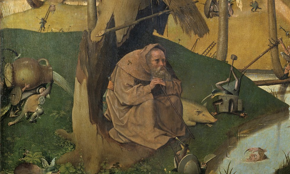 Hieronymous Bosch, The Temptation of St. Anthony