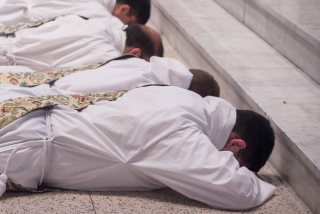 ordination prostration