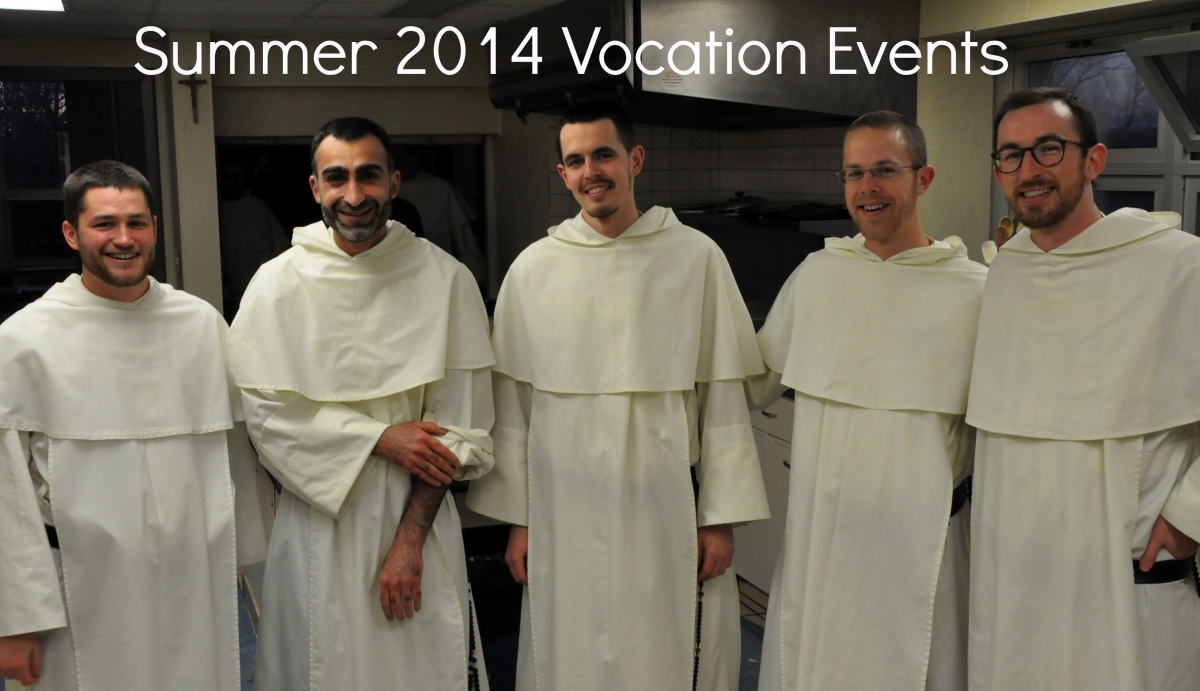 Summer vocation Events for Eastern Province Friars