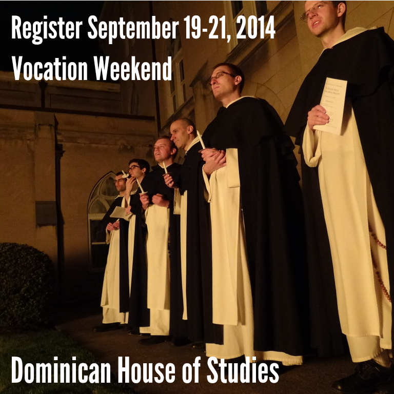 vocation weekend Sept 19-21